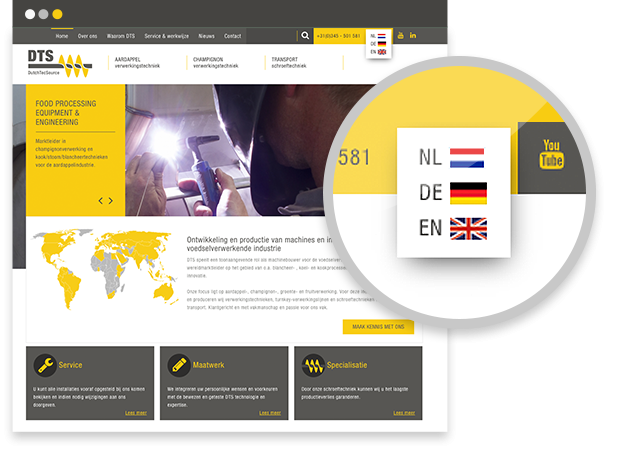 Dutch Tec Source website