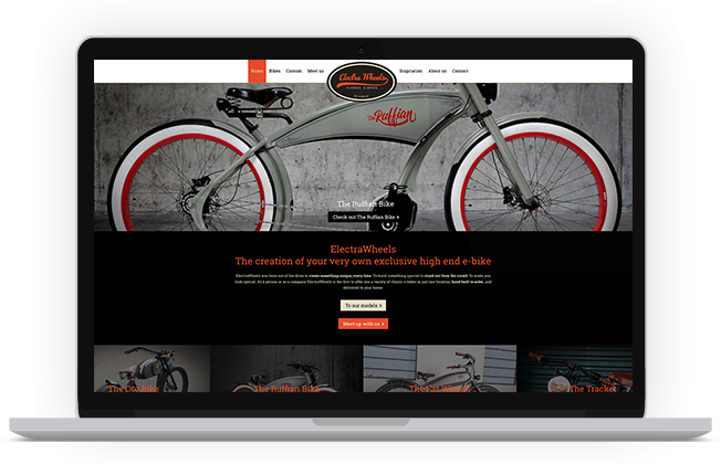 ElectraWheels - Website
