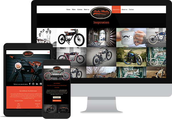 ElectraWheels - Website responsive